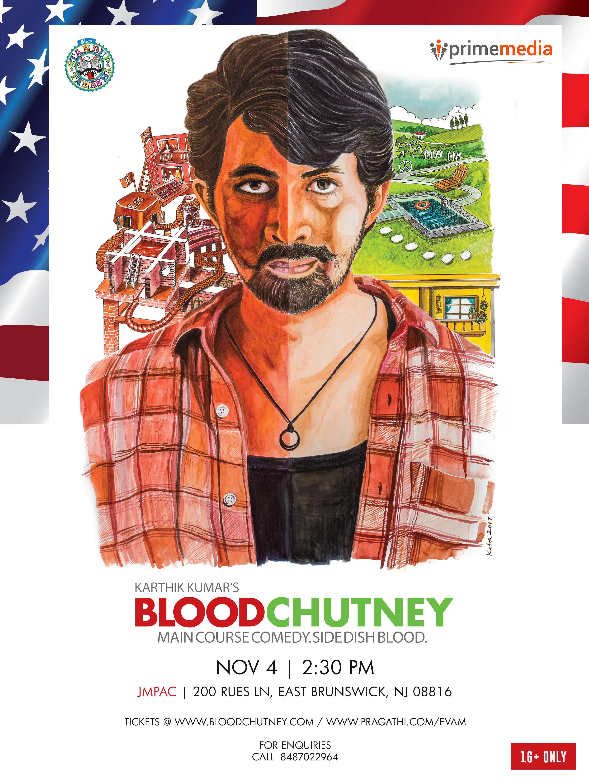 Karthik Kumars Blood Chutney East Brunswick New Jersey