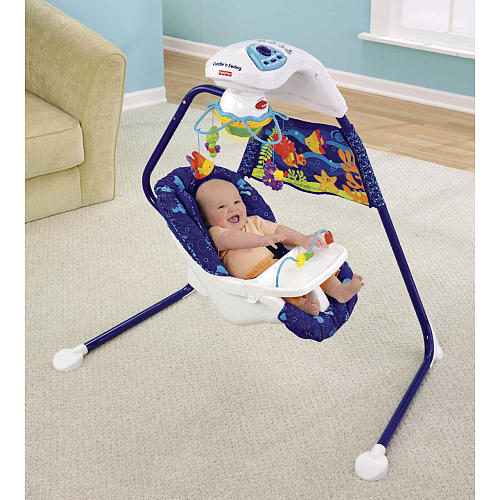 Fisher Price Cradle Swing Ocean Wonders Pragathi