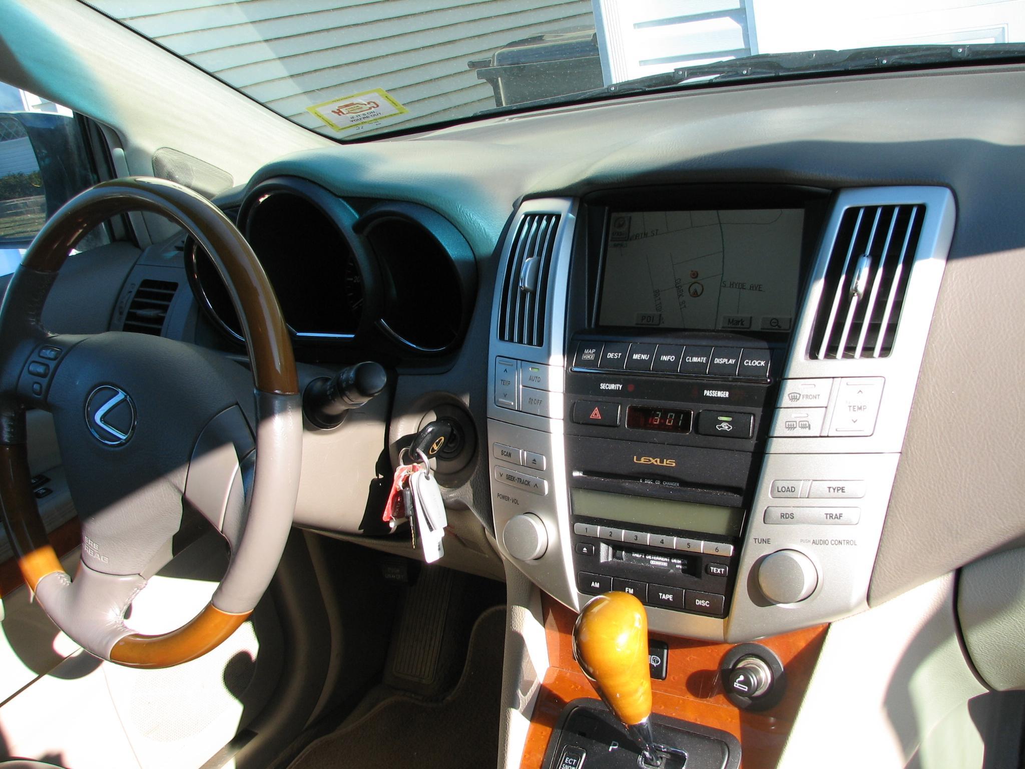 2004 Lexus Rx 330 Awd Fully Loaded Pragathi 2005 Rx330 Interior 00