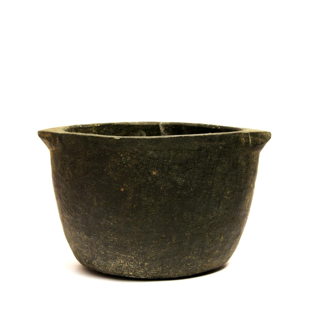 Seasoned Soapstone Cook pots - 1.0 ltr
