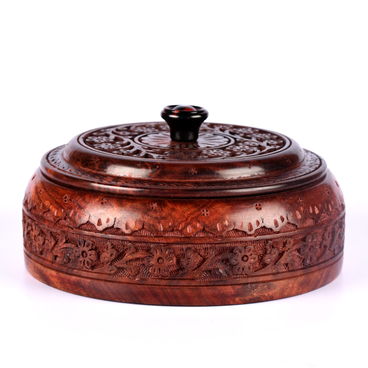 Wooden Roti box-9.5 inches
