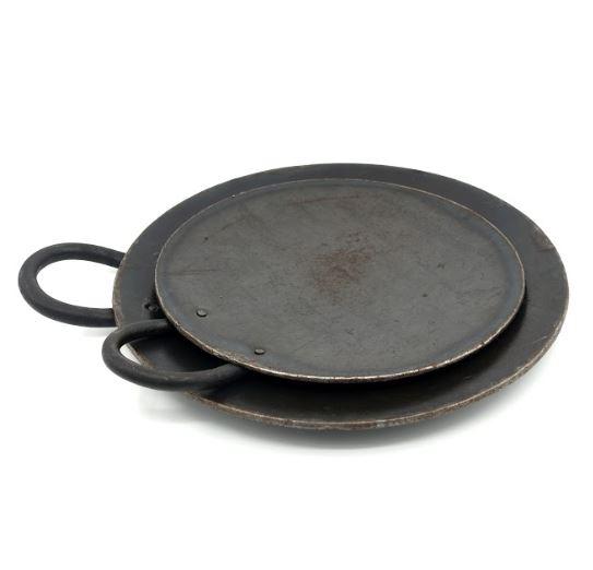 Seasoned Iron Dosa Tawa - 10 inches