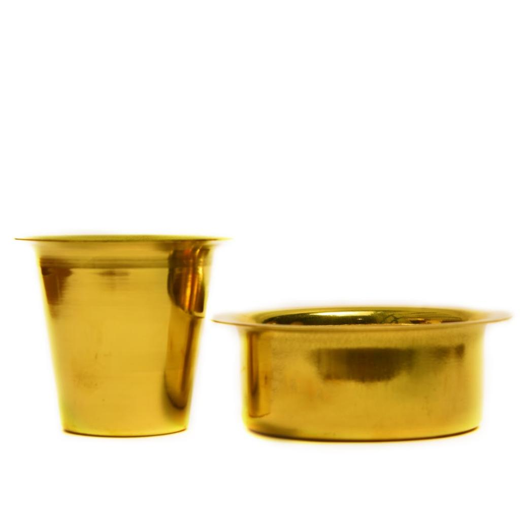 Brass Coffee Davara Set