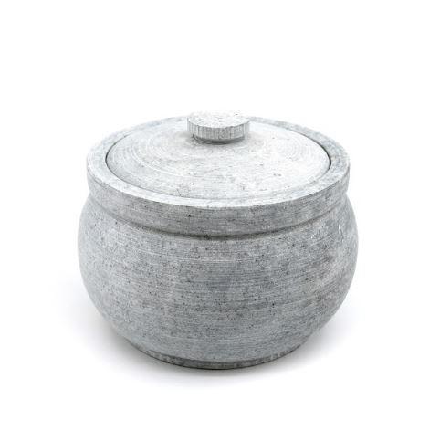 Soapstone curd jar - 1.0 ltr