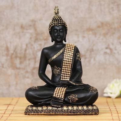 Decorative Meditating Lord Buddha Indian Home Decor