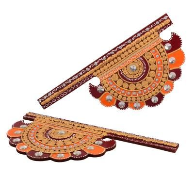 Wooden Decorative Pankhi Wall Hanging Indian Home Decor