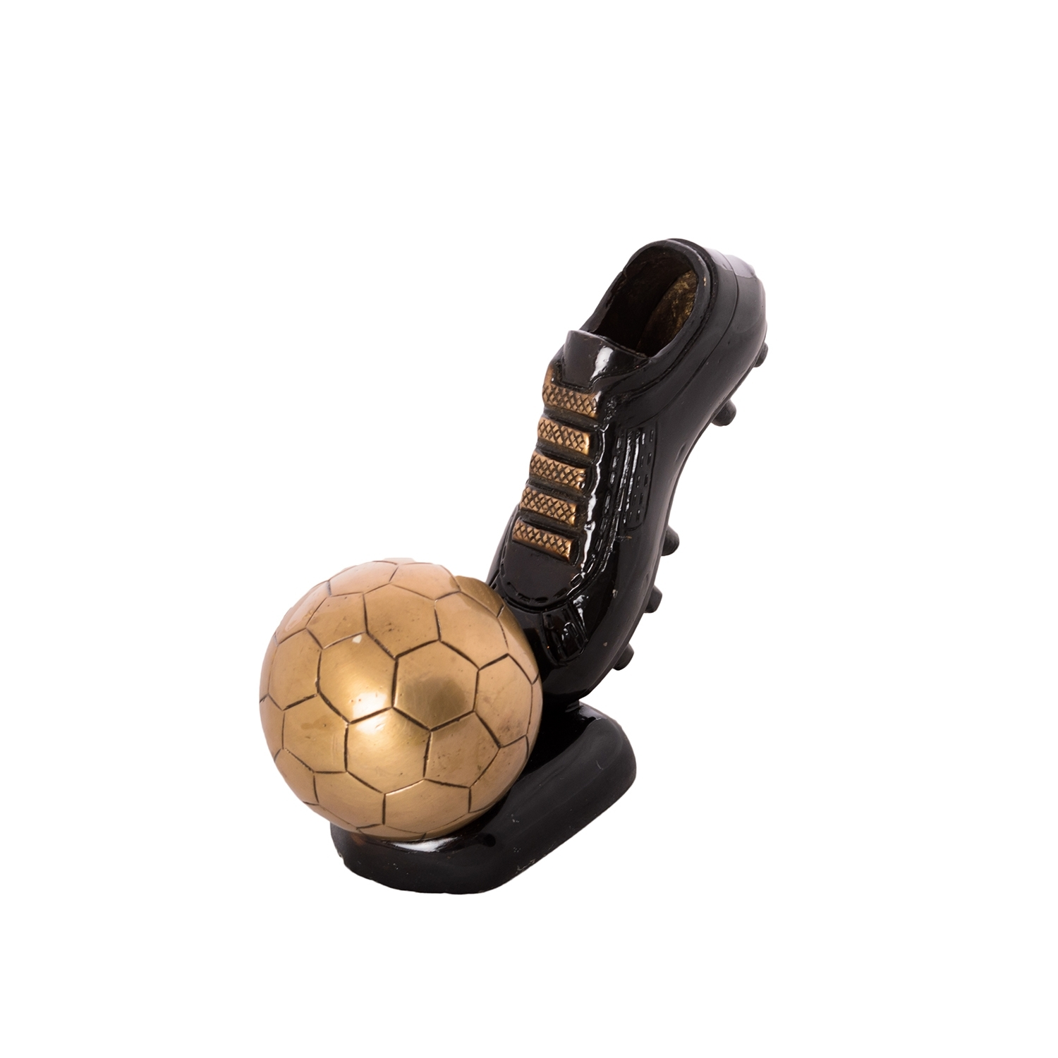 Decorative Soccer Ball and Shoe Brass Tableware  Indian Home Decor