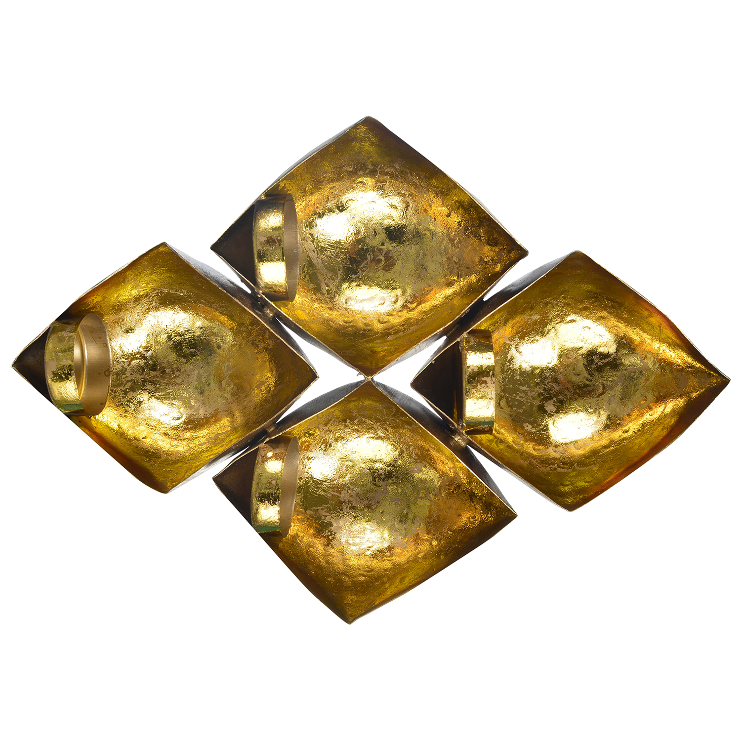 Set of 4 Tea Light Holder Indian Home Decor