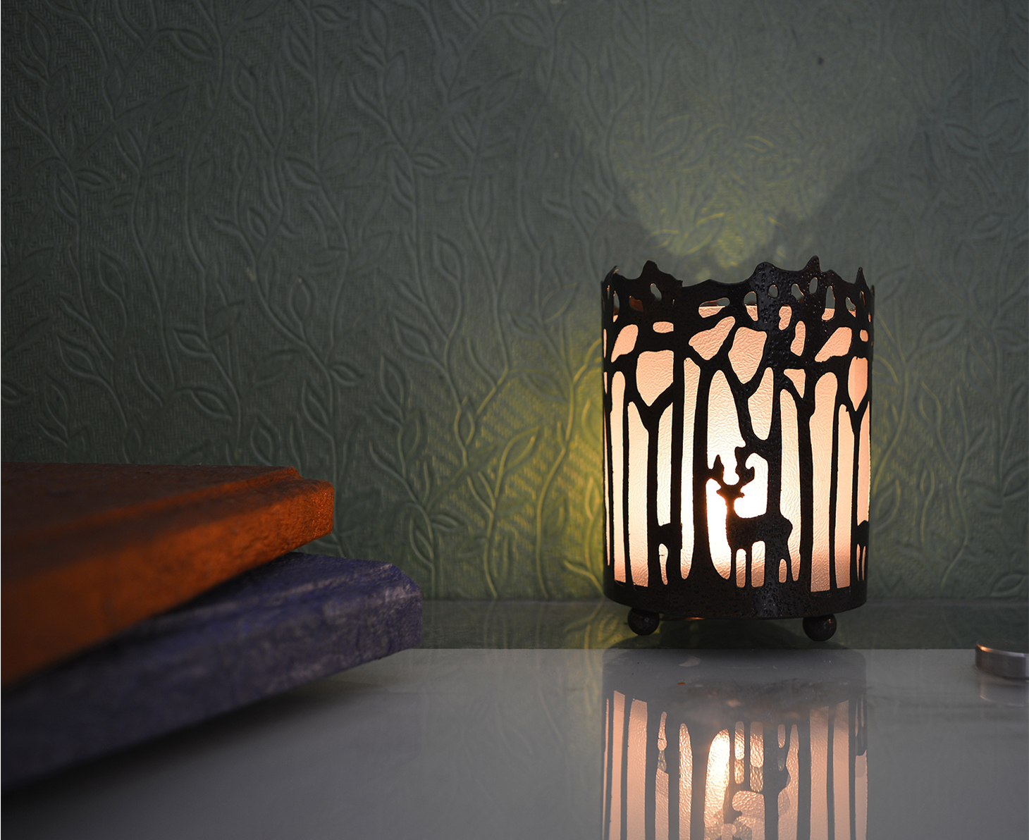 Decorative Shadow Tea Light Holder Indian Home Decor