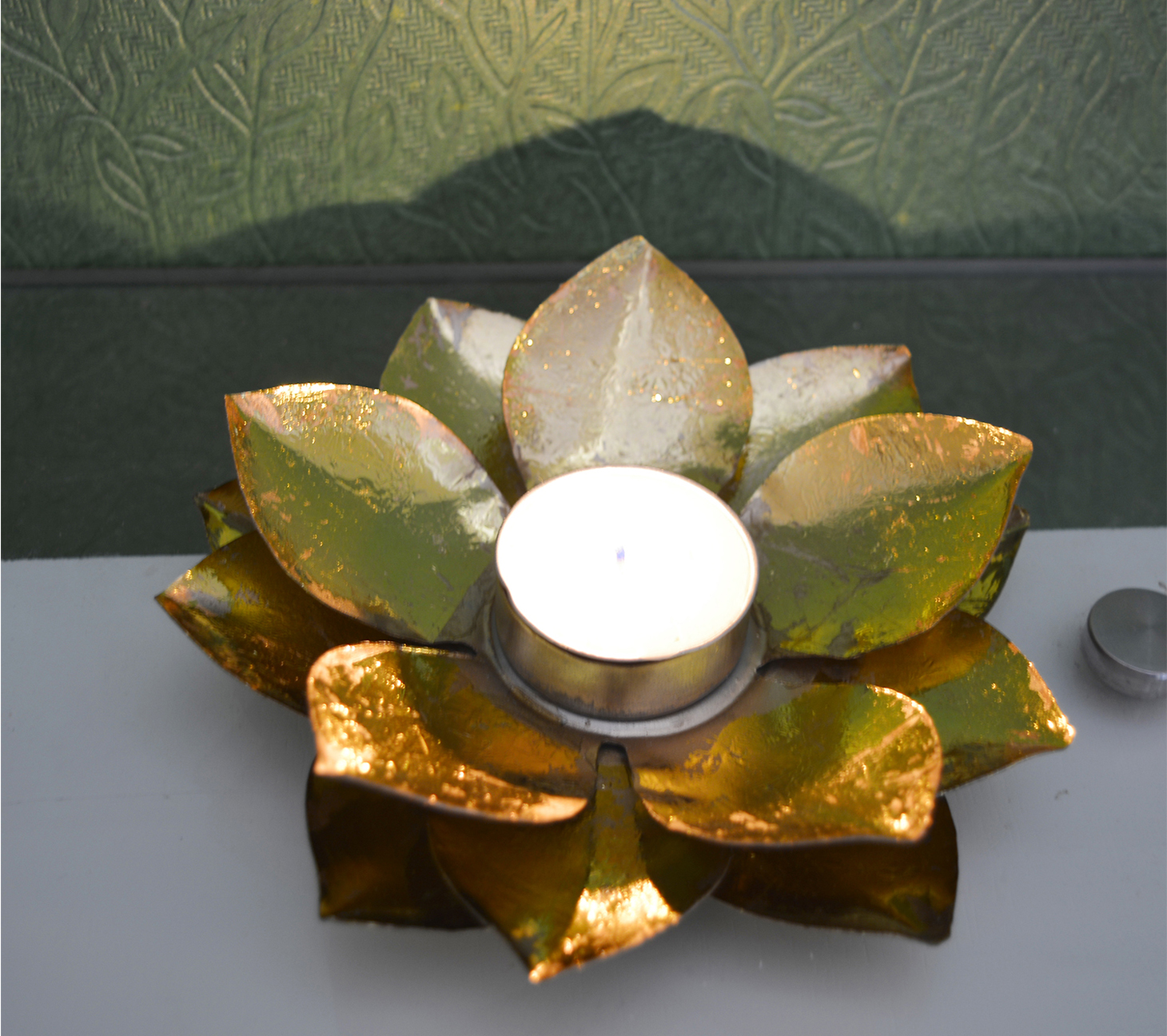 Decorative Floral Tea Light Holder Indian Home Decor