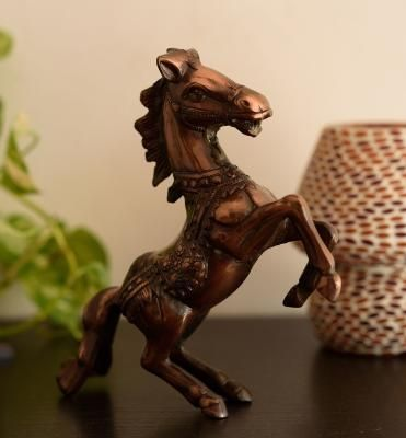 Metal Horse Statue Indian Home Decor