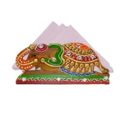 Tissue Paper Holder - Elephant Design Indian Home Decor