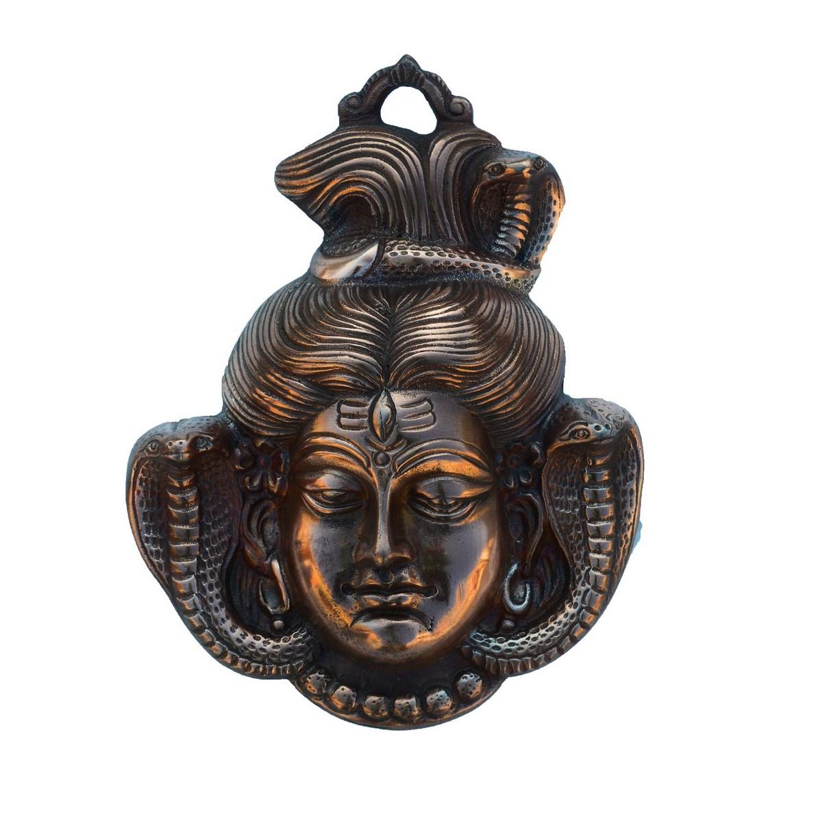 Lord Shiva Metal Wall hanging Indian Home Decor