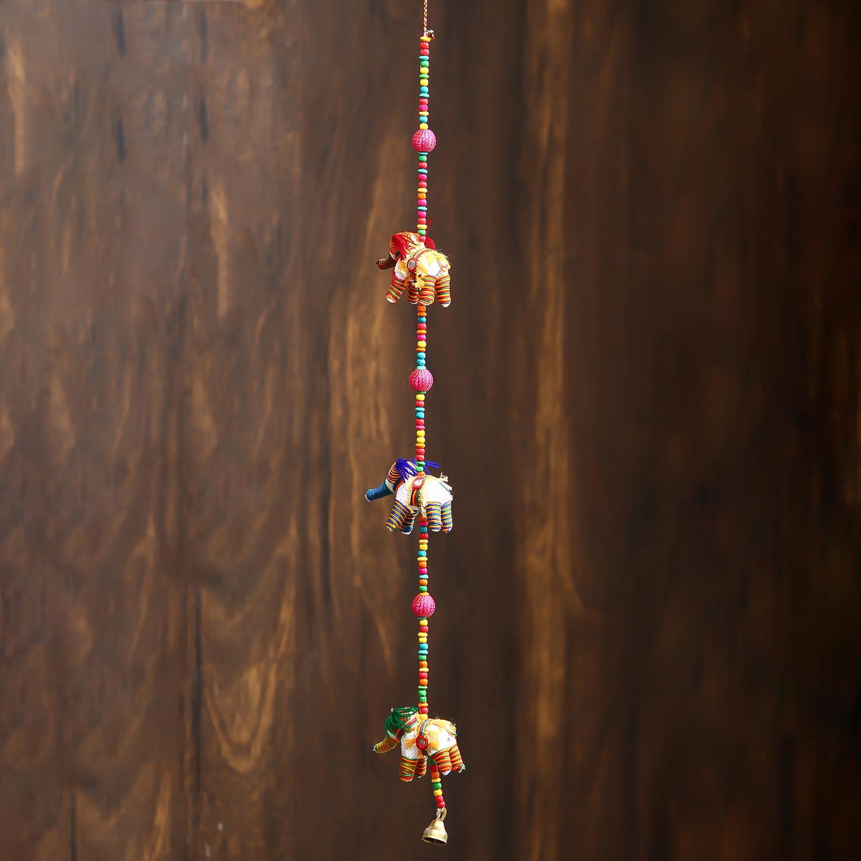 Handcrafted Decorative Elephant Wall/Door/Window Hanging Indian Home Decor
