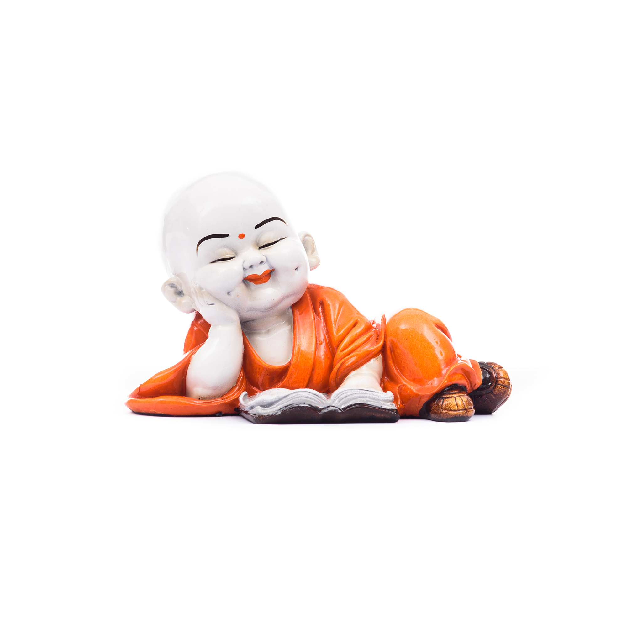 Polyresin Resting Buddha Indian Home Decor