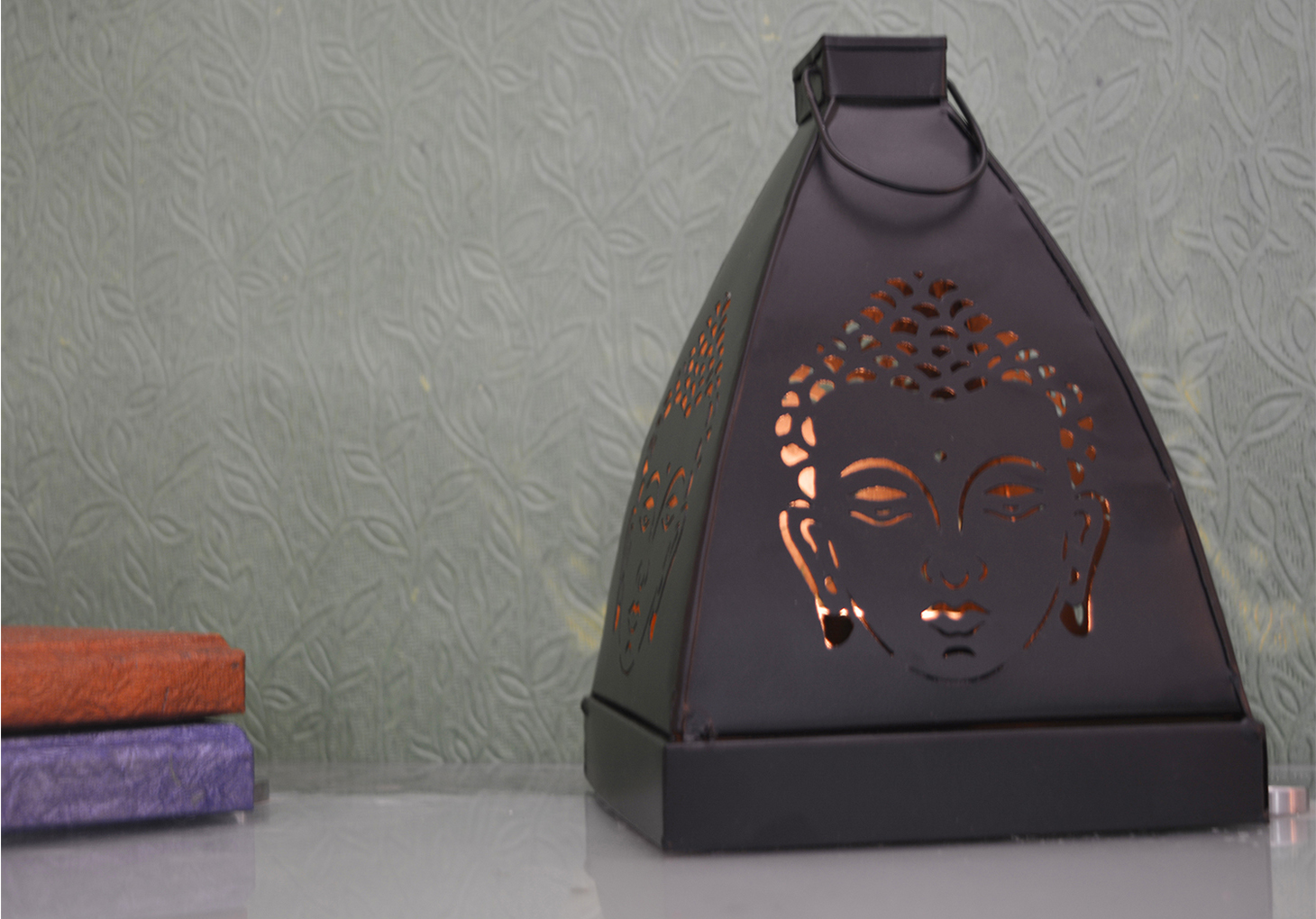 Lord Buddha Tea Light Holder Indian Home Decor