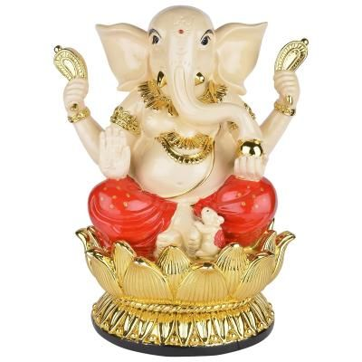 Decorative Blessing Lord Ganesha Showpiece Indian Home Decor