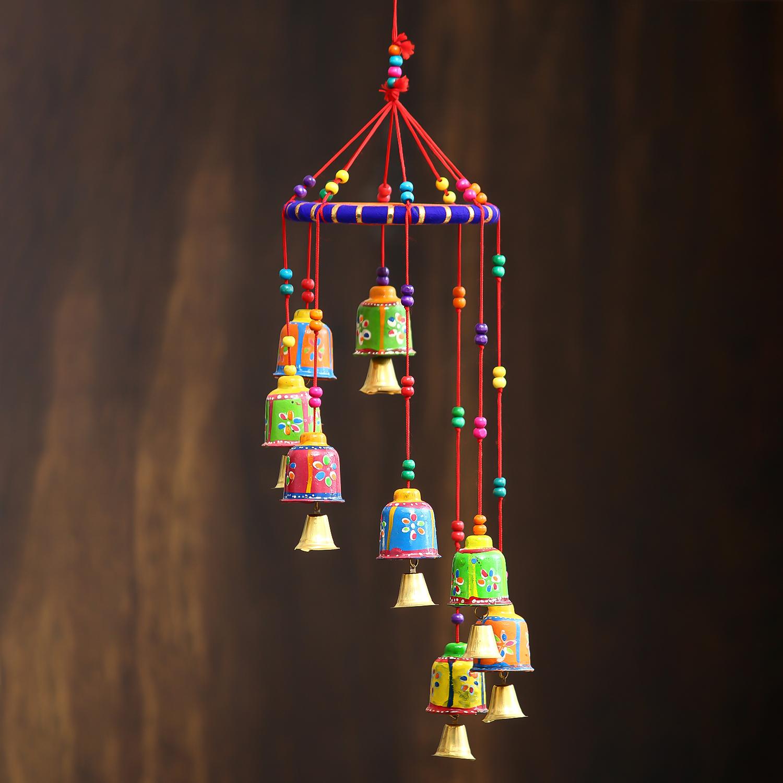 Handcrafted Decorative Wall/Door/Window Hanging Bells Indian Home Decor