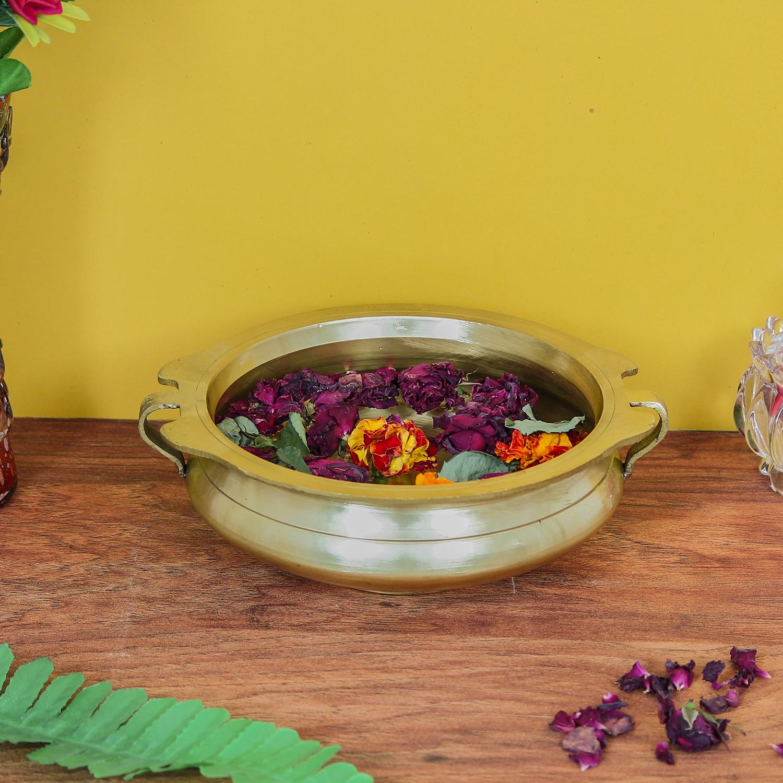 Decorative Brass Urli Indian Home Decor
