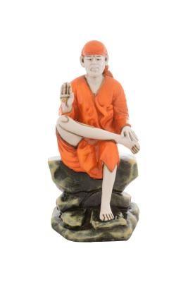 Premium Figurine of Sai Baba Indian Home Decor