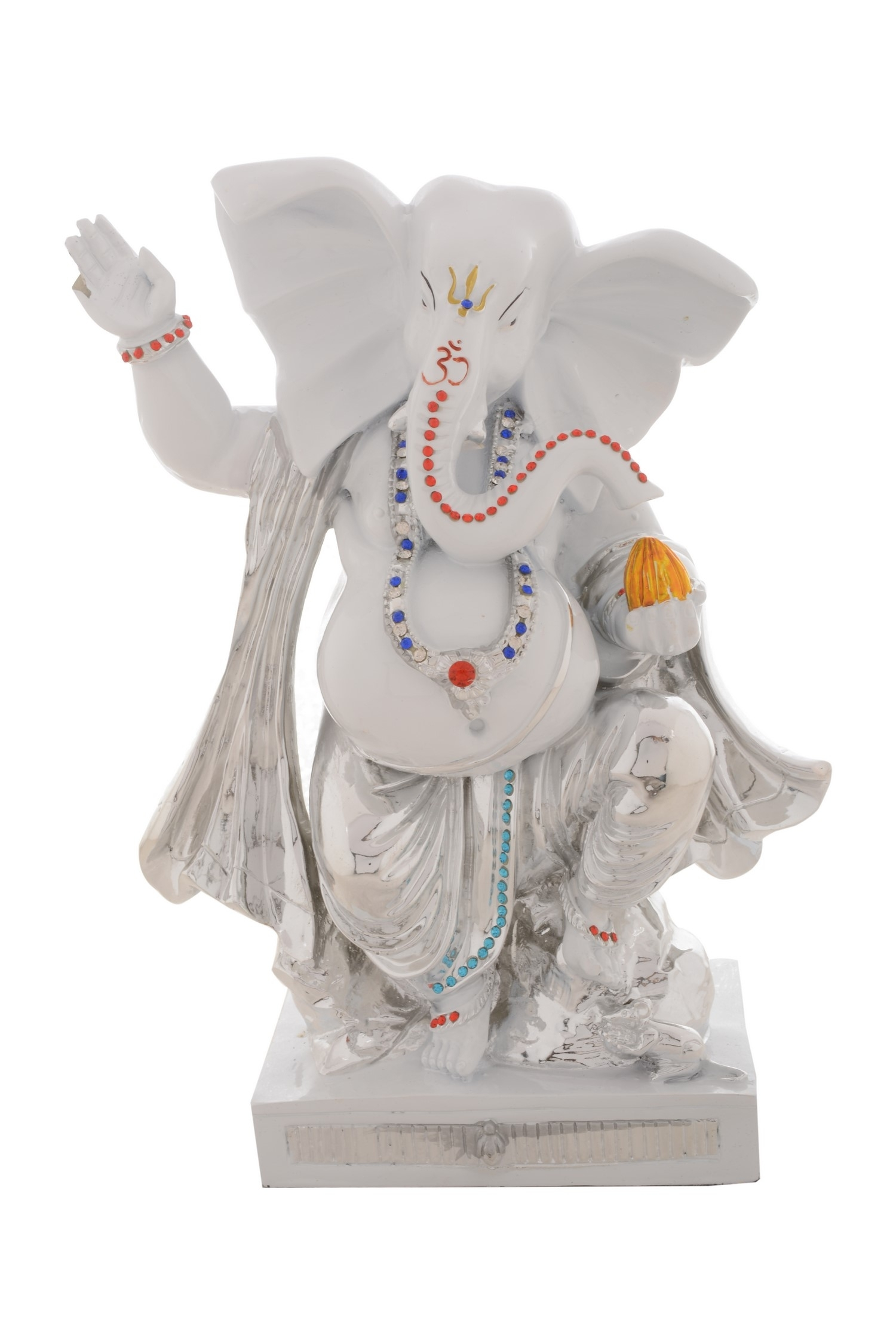 Premium Figurine of Lord Ganesha in Dancing Position Indian Home Decor
