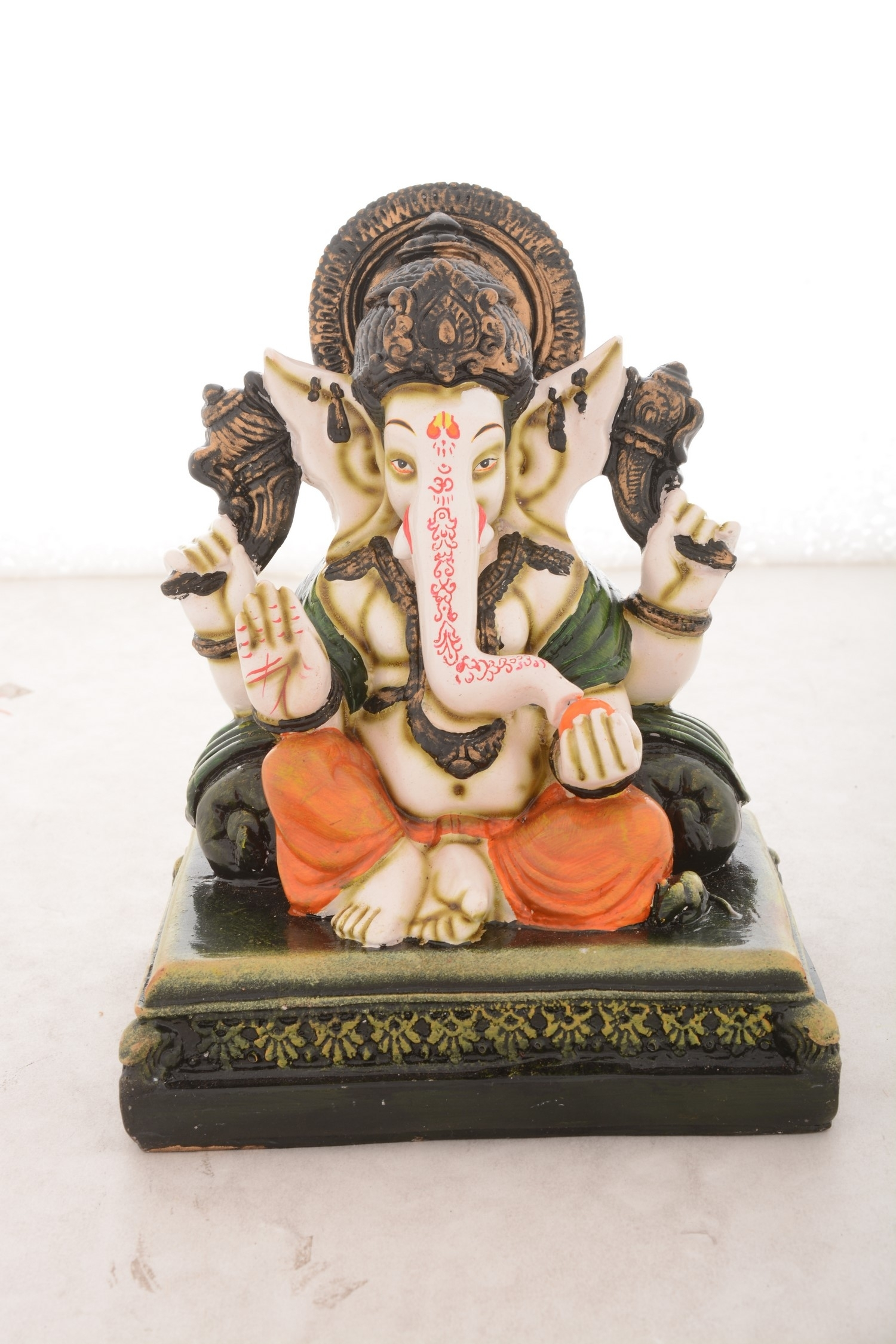 Premium Figurine of Blessing Lord Ganesha Indian Home Decor