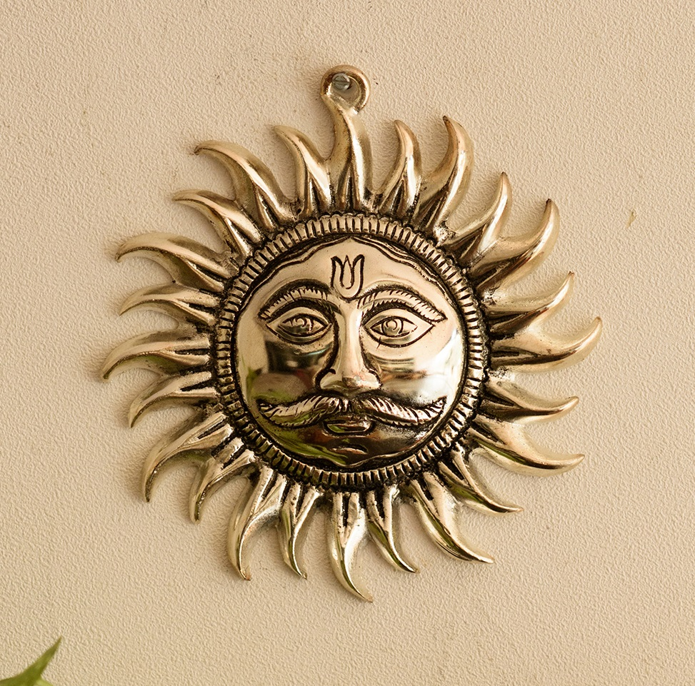 Decorative Wall Hanging of Sun Indian Home Decor