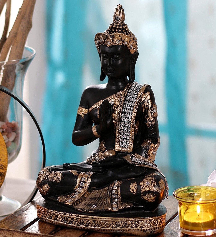 Handcrafted Decorative Meditating Buddha Indian Home Decor