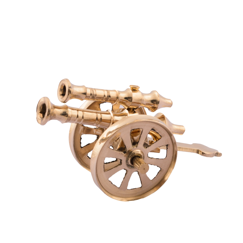 Brass Decorative Canon Showpiece Indian Home Decor