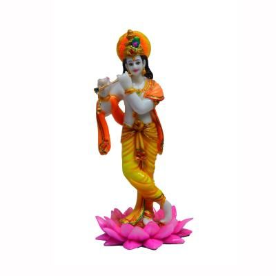 Lord Krishna playing Flute Indian Home Decor