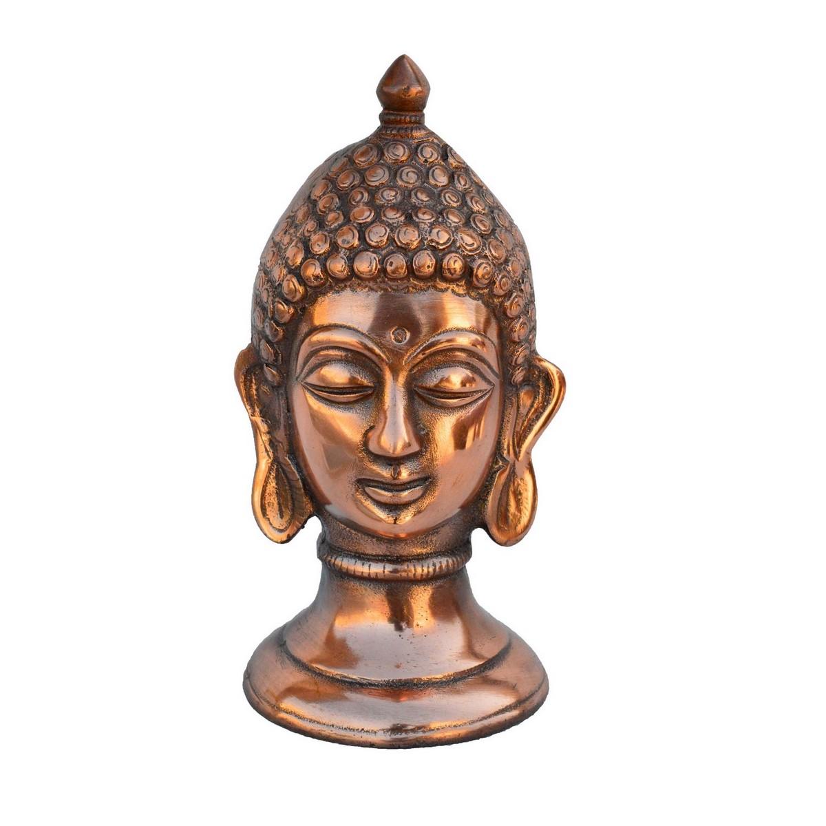 Metal Lord Buddha Showpiece Indian Home Decor