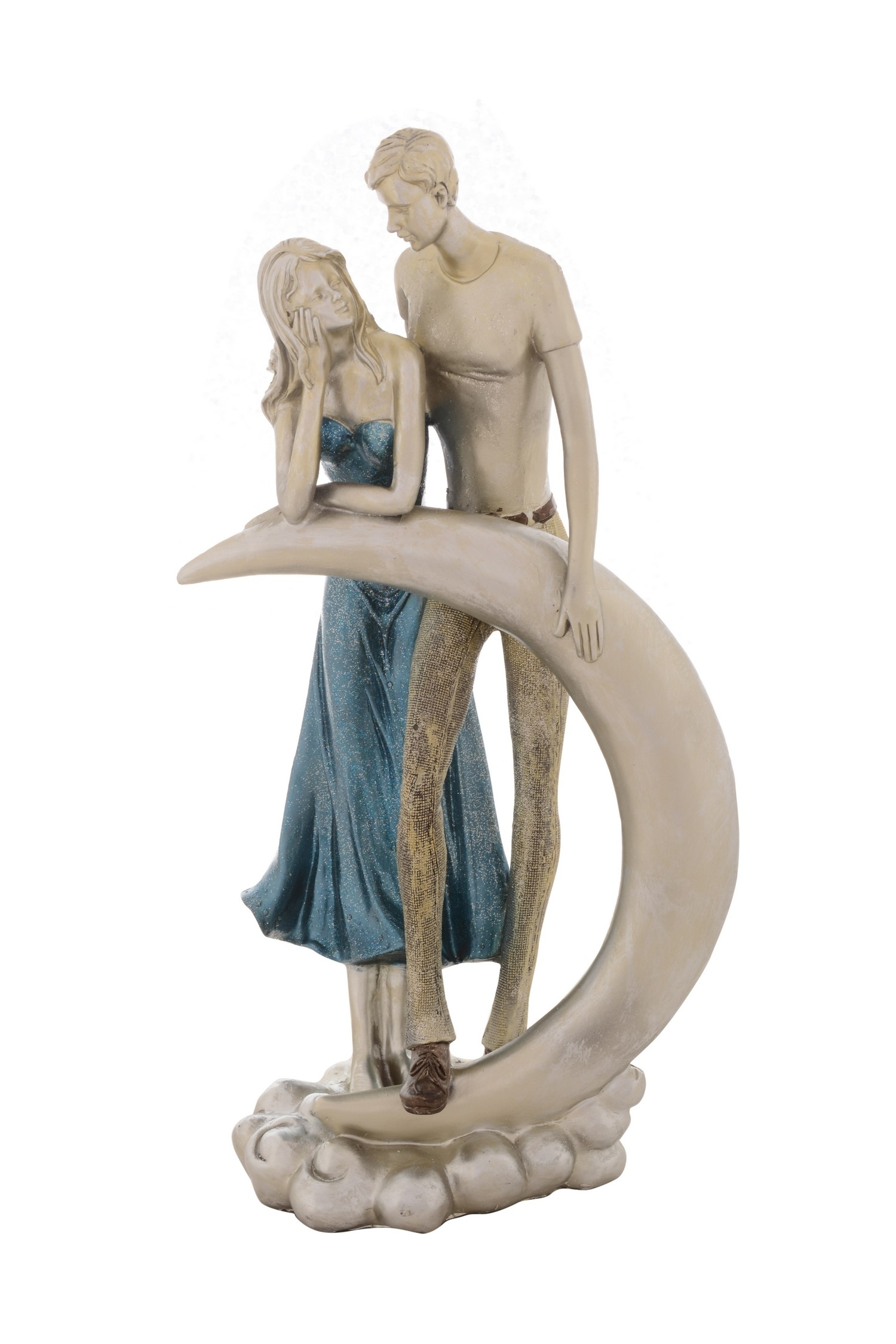 Premium Figurine of Loving Couple Indian Home Decor