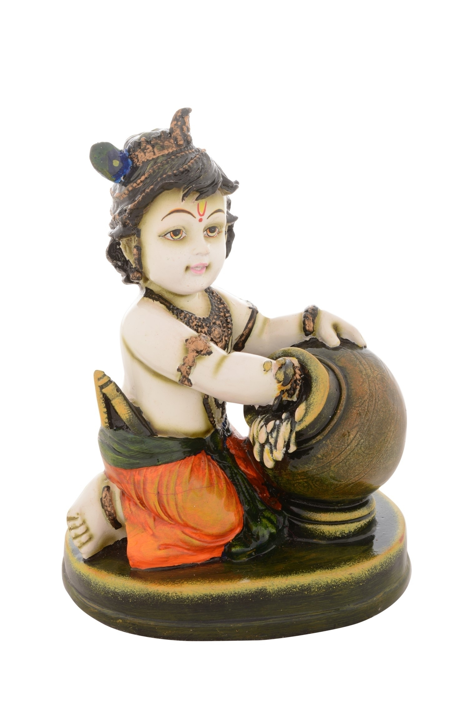 Premium Figurine of Laddu Gopal Indian Home Decor