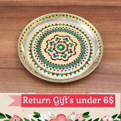 Indian return gifts under 6$