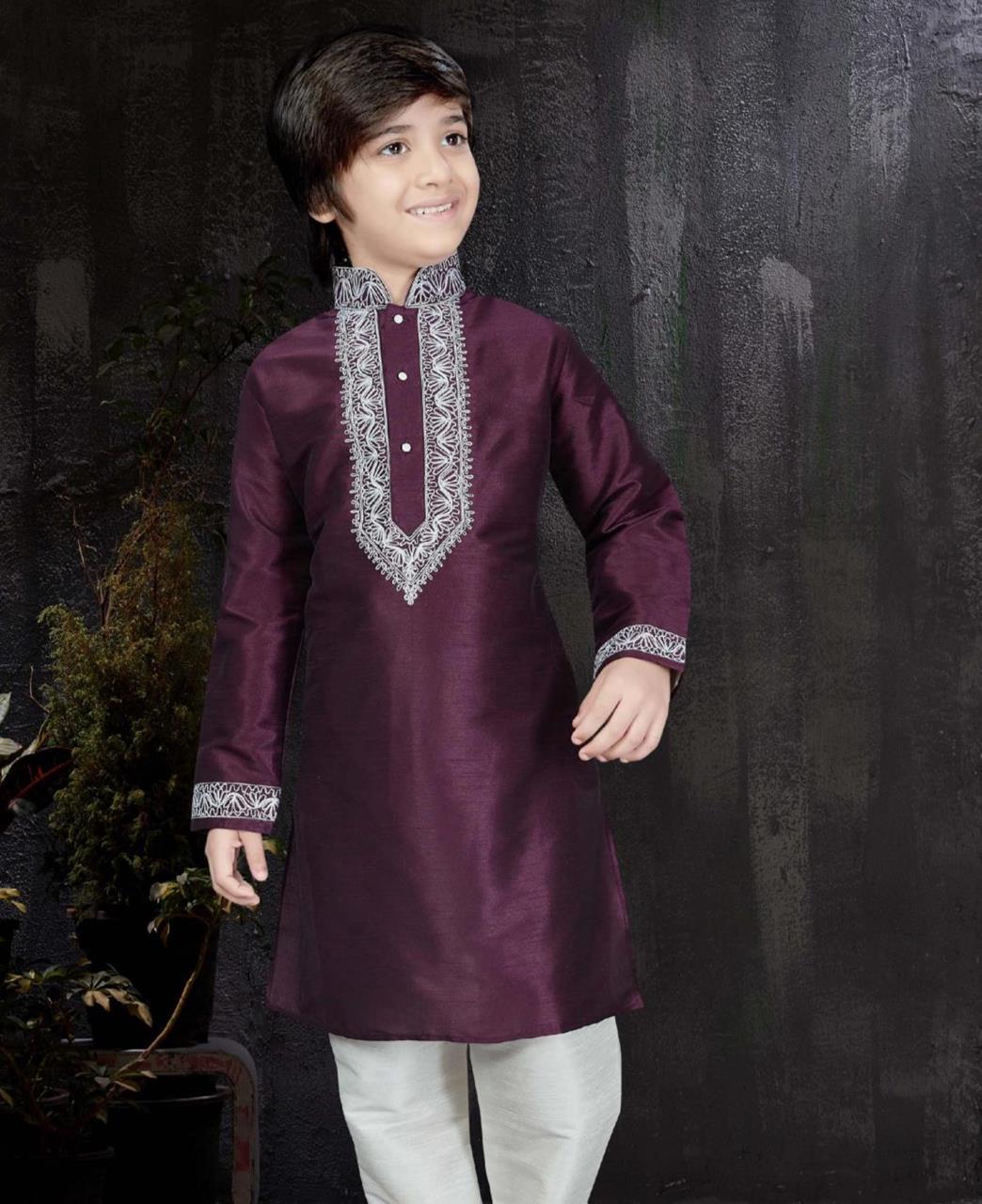 Magnificent Purple Kids Blazer and Suits