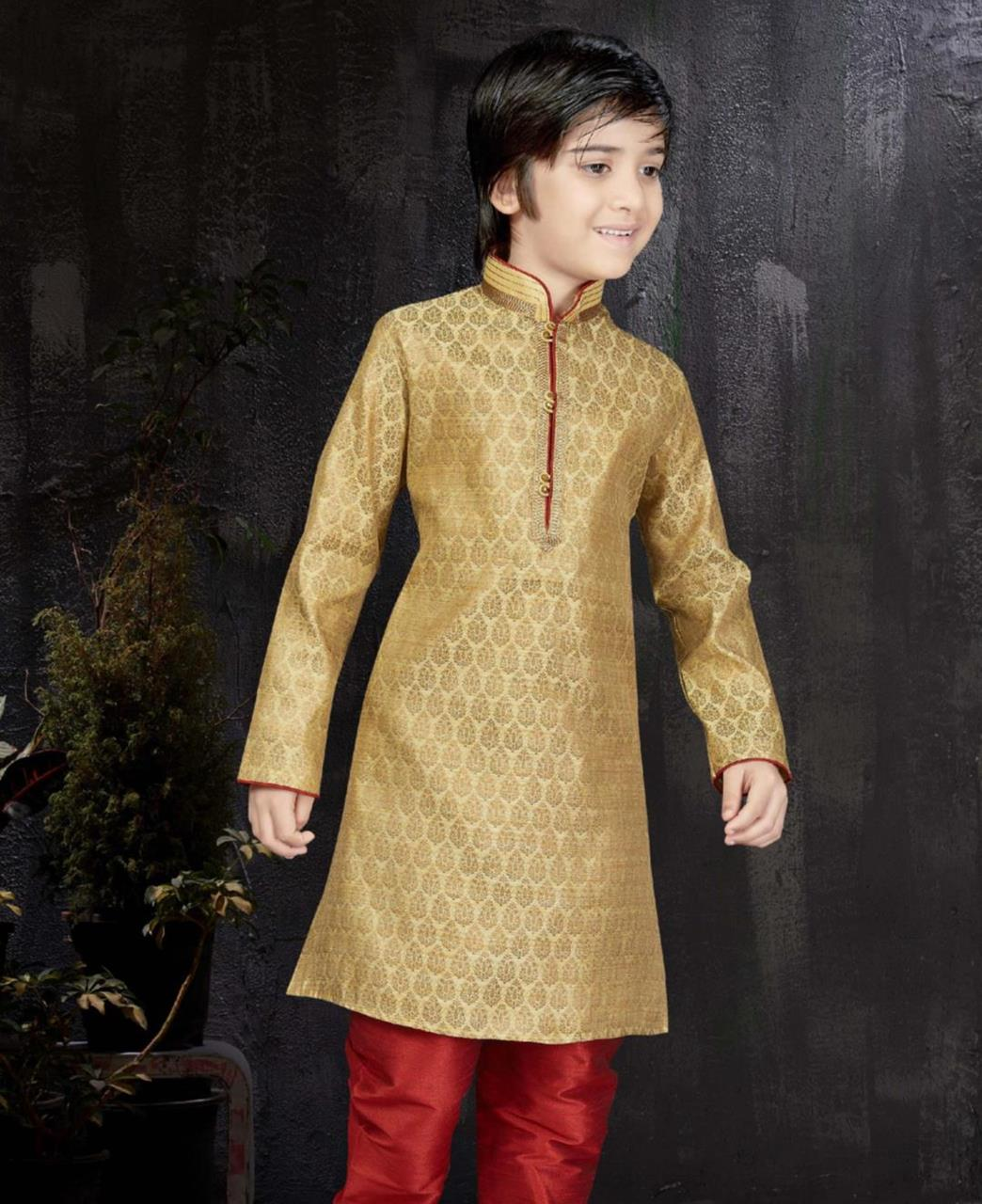 Magnificent Gold Kids Blazer and Suits