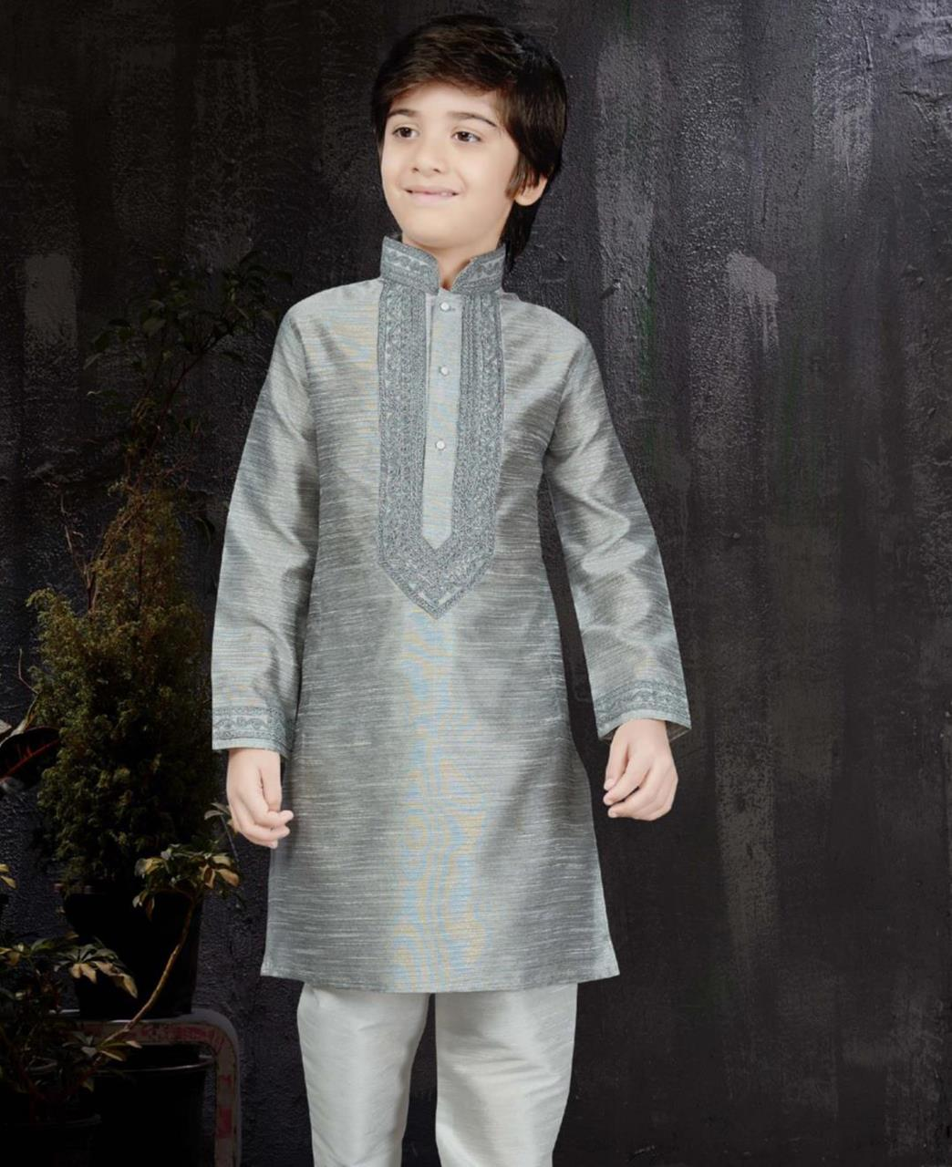 Magnificent Gray Kids Blazer and Suits