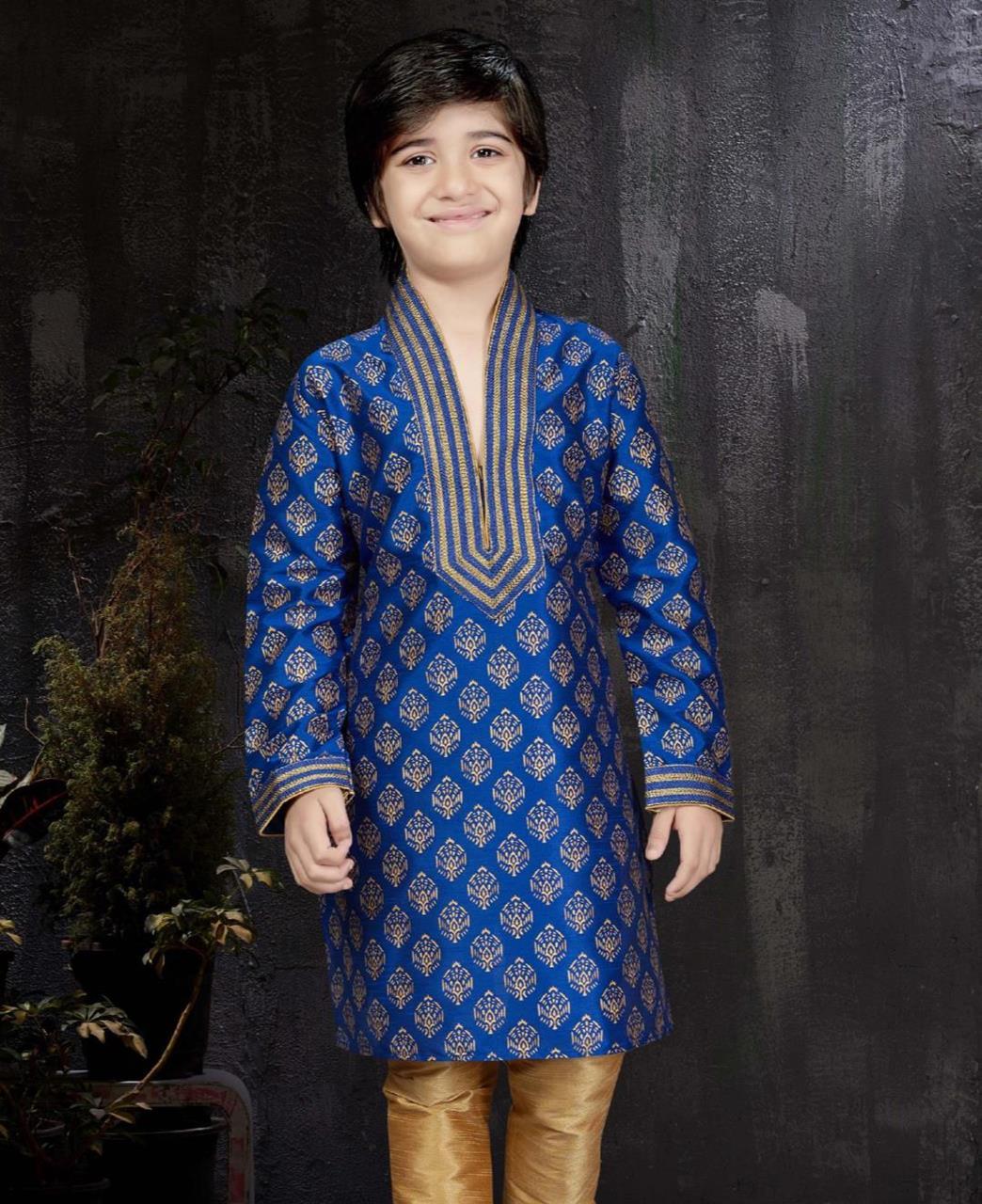 Magnificent Blue Kids Blazer and Suits
