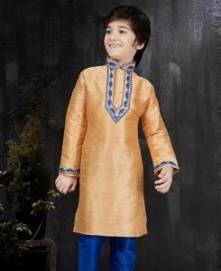 Magnificent PeachPuff Kids Blazer and Suits
