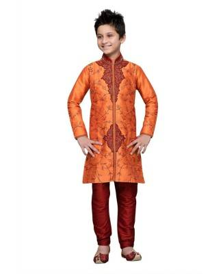 Magnificent Orange Kids Blazer and Suits