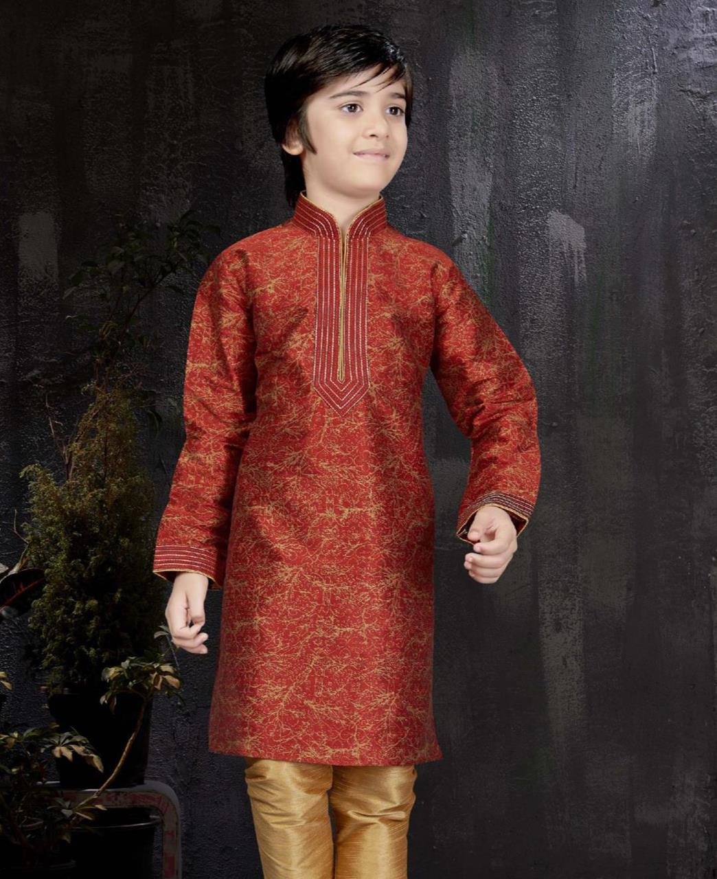 Magnificent Maroon Kids Blazer and Suits
