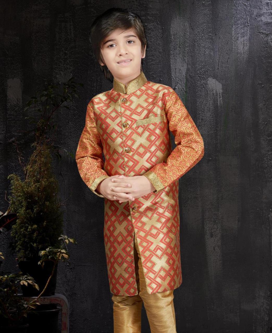 Magnificent Orange Kids Blazer and Suits