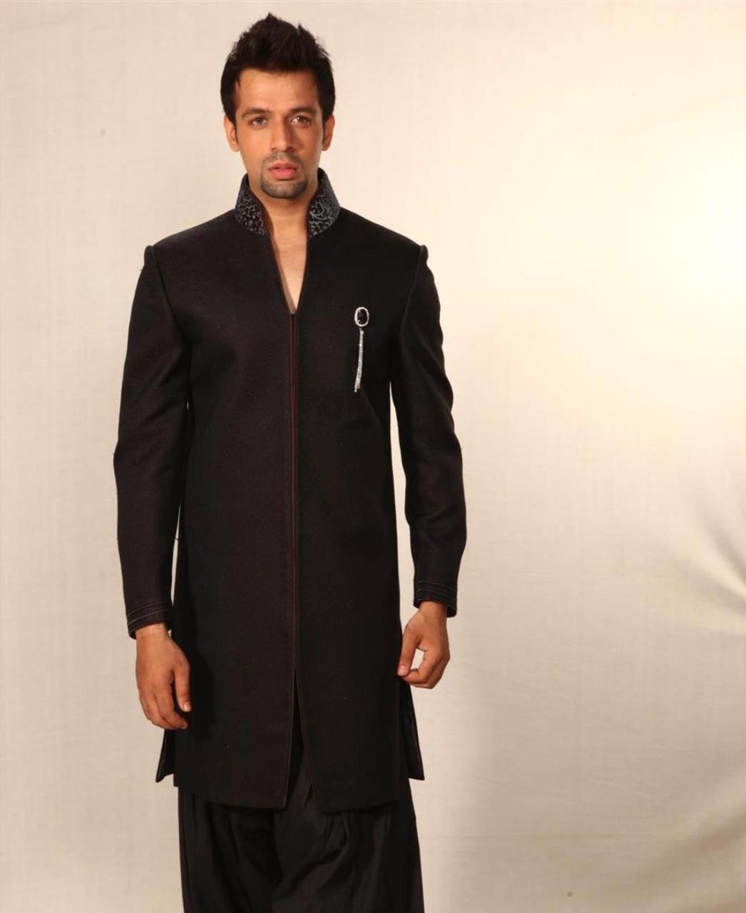 Plain Cotton Black Coats