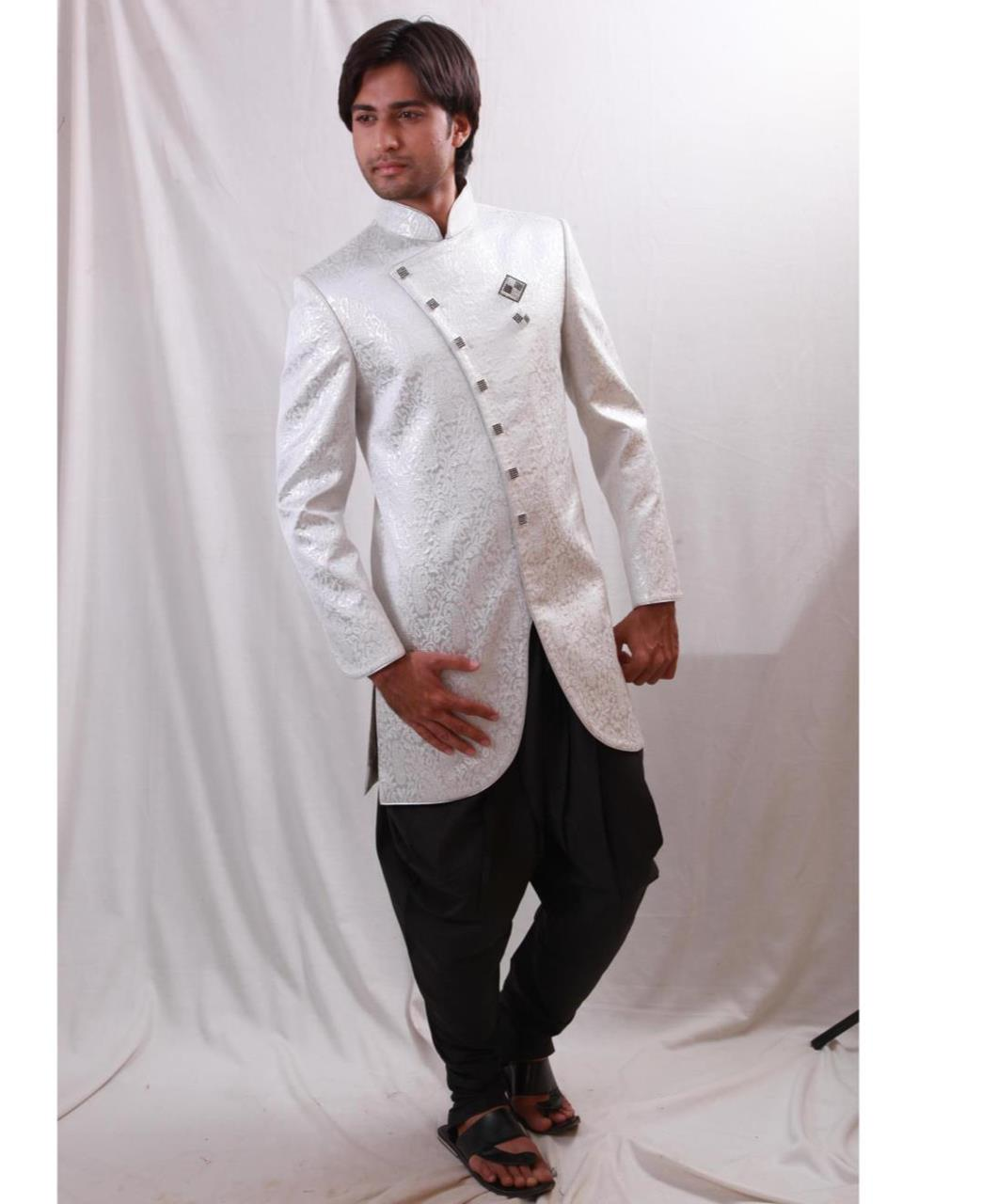 Printed Cotton White Coats