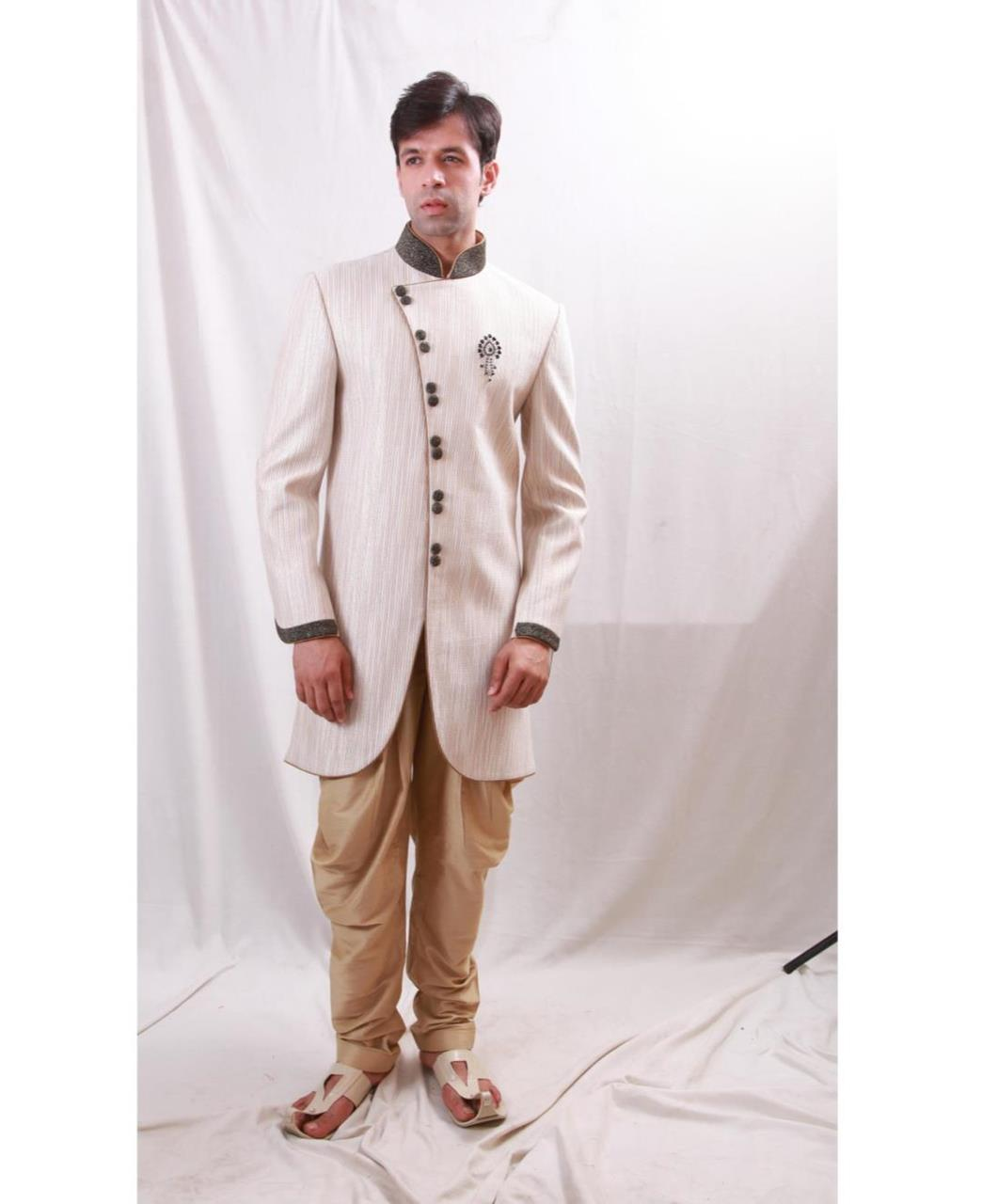 Plain Cotton Cream Coats