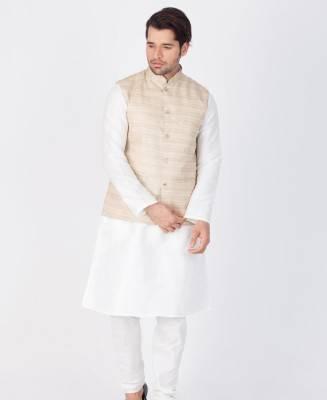 Plain Cotton White Coats