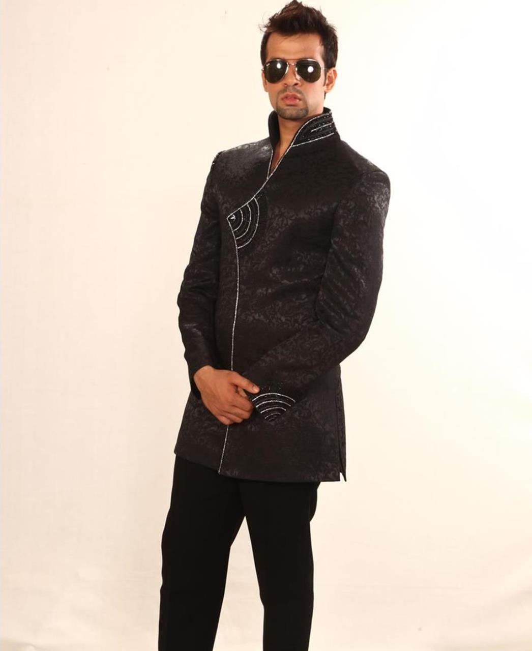 Stones Cotton Black Coats