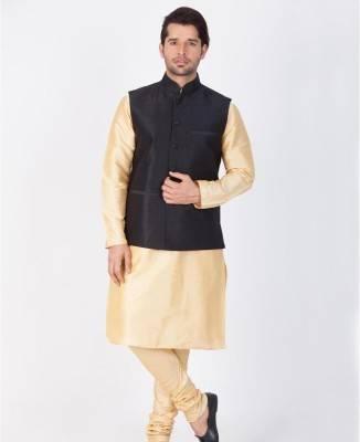 Plain Cotton Gold Coats