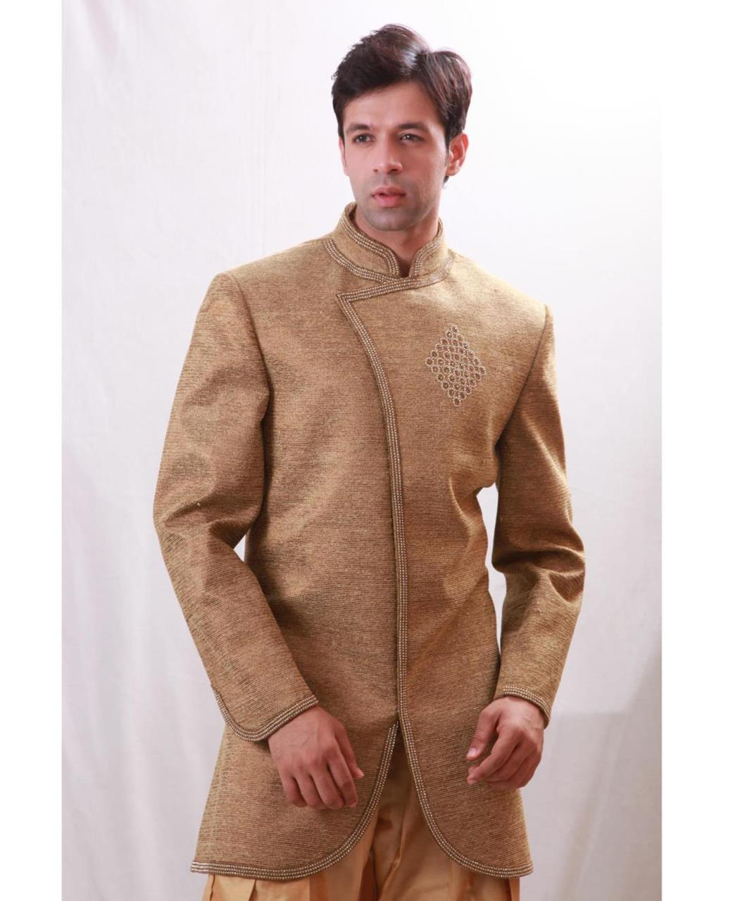 Plain Cotton Cream Coats