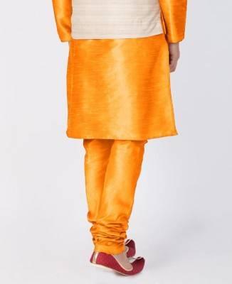 Plain Cotton Orange Coats